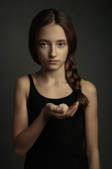 Umělecká portrétní fotografie